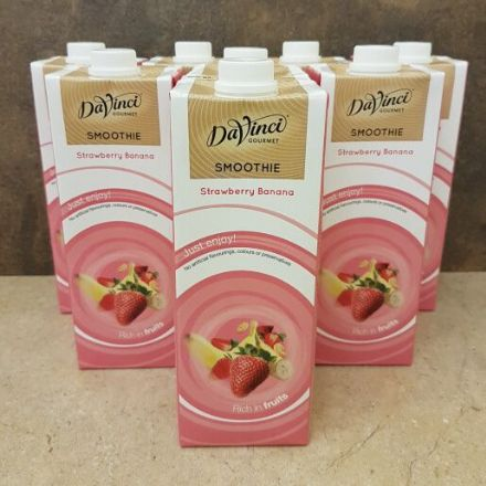 Strawberry & Banana Smoothie Mix 8 x 1ltr